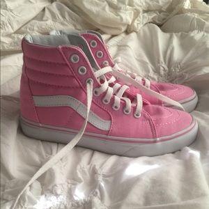 79605d07da4 Vans Shoes - Women s Old Skool S8 High Vans Women s 6.5 Pink